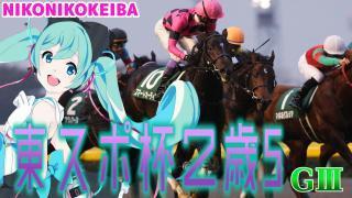 【競馬】東京スポーツ杯2歳S(G3)【総帥の兵器】