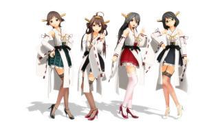 【MMD】金剛級姉妹