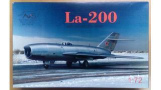 【模型】Avis 1/72 ラボーチキン La-200の制作①