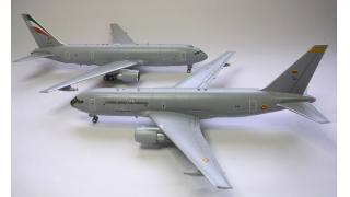 【模型】ハセガワ 1/200 KC-767の制作④(完成)