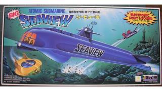 【模型】ミドリ non 原子力潜水艦シービュー号(特大)の制作①