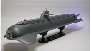 【模型】ミドリ non 原子力潜水艦シービュー号(特大)の制作④(完成)