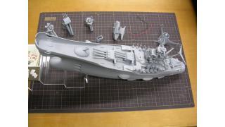 【模型】バンダイ イメージモデル 宇宙戦艦ヤマトの制作④