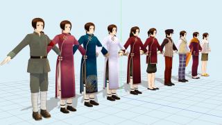 140822 仙人モデルverUP及び配布方法の変更について +他モデル・アクセサリ配布解説