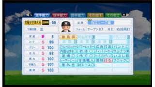 【パワプロ2016】独立リーグ野手育成・基礎カンストを目指して