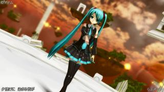 【MMD】橙ゲノム(らぶ式初音ミク)[1080p]