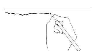 絵を描き始めたらまずは線を引く練習をすればいいんじゃないのか