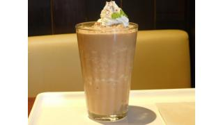 "「BEANUS CAFE ""新商品のカフェモカシェイク&モンブラン""」新宿三丁目"