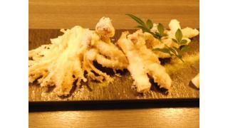 """「バードマン """"キノコの天ぷら盛り合わせ、あん肝ポン酢、若鶏の照り焼き、御造り3点盛り合わせ""""」新宿西口"""
