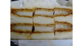 """ニコニコ超会議2015「肉の万世ブース """"万かつサンド""""」"""