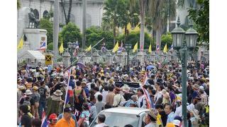 ▼26Nov時事通信|デモ隊、新たに3省閉鎖=混乱さらに拡大-タイ