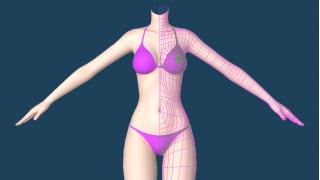【MMD】新しい水着を作ってみる