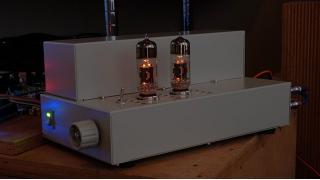 真空管アンプ『6N6P全段差動プッシュプル』を作ってみた