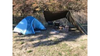 夏井川渓谷キャンプ場(3回目)、ソロキャン2日目