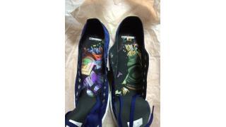 ジョジョの奇妙な靴とピアス