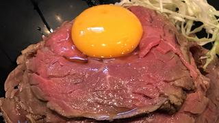 【ベホイミのグルメ】ゴジラ襲撃から2日経った東京・蒲田「the 肉丼の店」のレアローストビーフステーキ丼