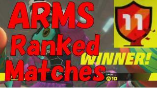 最近ARMSのランクマッチにハマり中www
