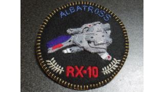 RX-10アルバトロスエンブレムバッヂ作ってみた。