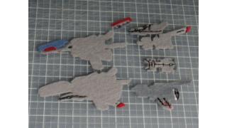 R戦闘機101機フェルト化計画【12機目】その2