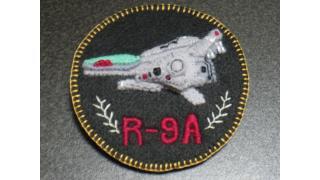 R-9Aアローヘッドエンブレムバッヂ作ってみた。