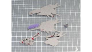 R戦闘機101機フェルト化計画【9機目】2日目