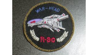 R-9Cウォーヘッドヘッドエンブレムバッヂ作ってみた。