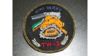 TW-2キウイ・ベリィエンブレムバッヂ作ってみた。