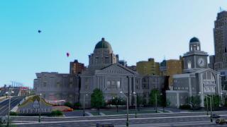 【シムシティ】SS集Vol.027:Ver.7.5ドーム付き市役所と30万人都市【無念】