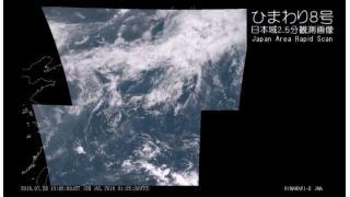 【関東甲信梅雨明け】気象衛星ひまわり8号 日本域2.5分観測画像 - 2016.07.28