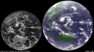 2015年1月の気象衛星動画