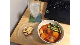 2月25日 鶏肉のトマト煮 ジン