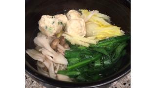 3月18日 鶏団子鍋
