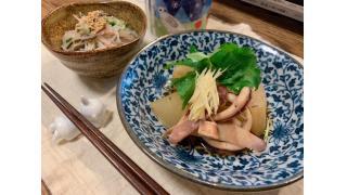 3月14日 大根とイカの煮物、春雨サラダ