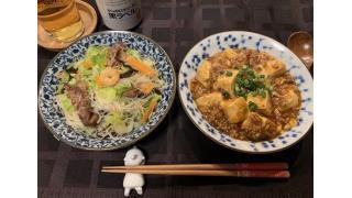 3月28日 麻婆豆腐と焼きビーフン