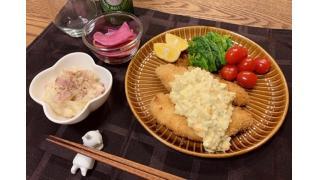 12月24日 タルタルソース&ささみカツ、クリーミーポテトサラダ
