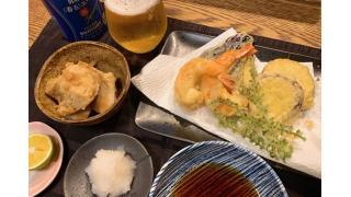 10月17日 天ぷら、里芋煮