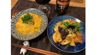 11月17日 カブと豚肉の中華炒め、天津飯