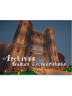 Archives-Games&Screenshots-