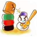 【RO】雪だるまのだるま落とし