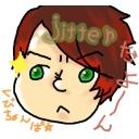 """jitterが何かする枠w( ФωФ)y━""""(〇×□)族"""