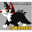 ロンダニーニの黒犬(^ω^U)