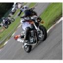 バイクとジムカーナとSR400。