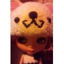 ♥w人形にホッチキス♥