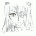メカクレ 目を隠した女性キャラクター