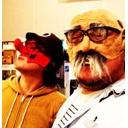フクホクユタカと爺