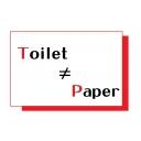 Toilet≠Paper