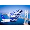 Blue Impulse  ~SKY CANVAS スモークの航跡を世界に!