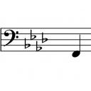 Bass guitar student.