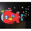 GENTOKUの虹色潜水艦