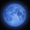 キーワードで動画検索 天体観測 - ☽月光浴☽ 碧い月の夜に… ☁○☁ 月の満ち欠け